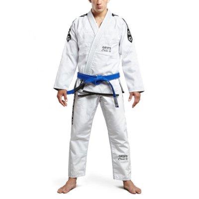 Кимоно Grips Classic Logo Бело / Черное
