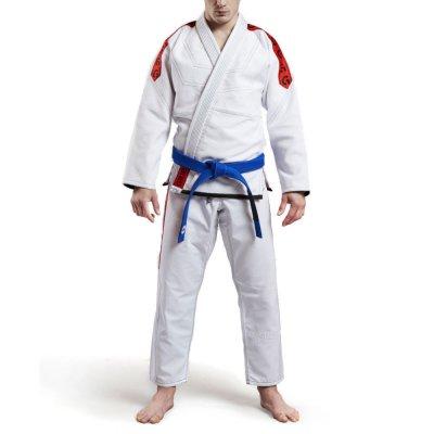 Кимоно Grips Classic Logo Бело / Красное