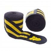 Боксерские бинты Fighter Черно-желтый