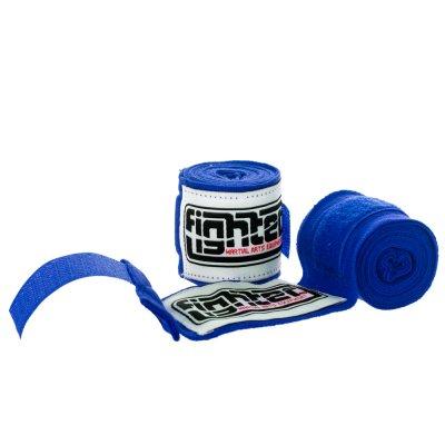Бинты для бокса Fighter Синие