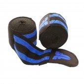 Боксерские бинты Fighter Черно-синие