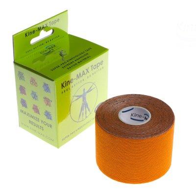 Кинезио тейп Rayon, 5см x 5м Оранжевый