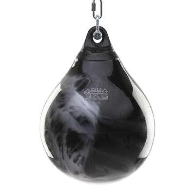 Водяная боксерская груша Aqua Bag 55 кг черно-серебряная