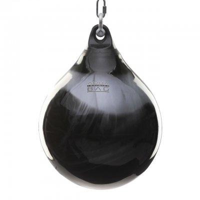Водяная боксерская груша Aqua Bag 85 кг черно-серебряная