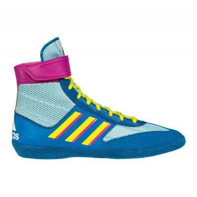 Борцовки Adidas Combat Speed 5 Сине-желтые