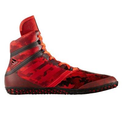 Борцовки Adidas FLYING IMPACT Черно-красные