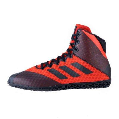 Борцовки Adidas Mat Wizard 4. Черно-красные