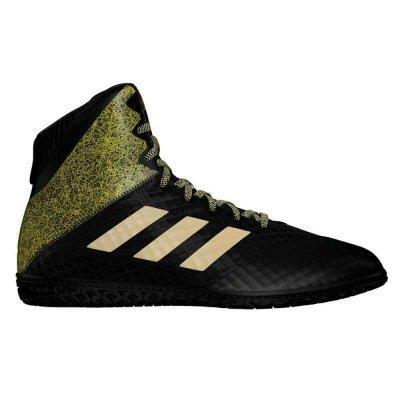 Борцовки Adidas Mat Wizard Hype Черно-золотые
