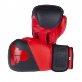 Перчатки Fighter SPLIT черно-красные