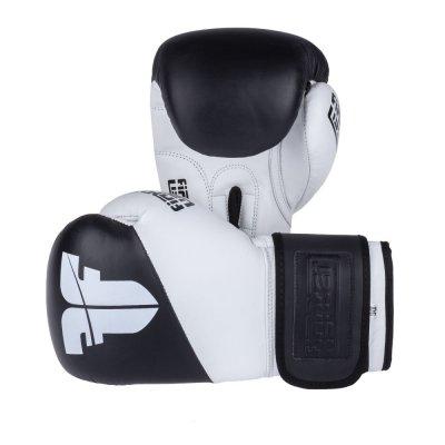 Перчатки Fighter SPLIT бело-черные