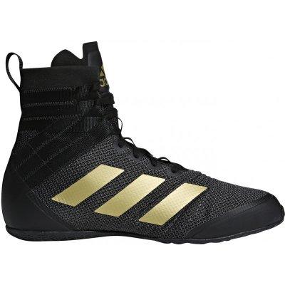 Боксерки Adidas Speedex 18 Черно-золотые