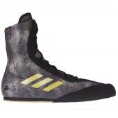 Боксерки Adidas Box Hog Plus Черно-золотые