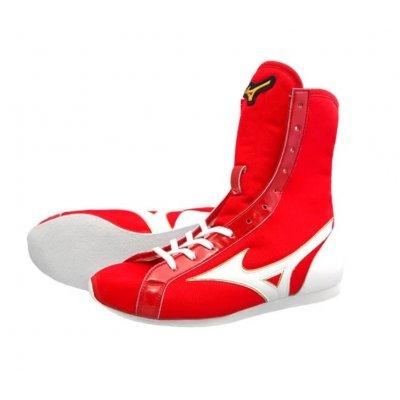 Боксерки Mizuno Красно-белые Средние