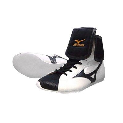 Боксерки Mizuno Бело-черные