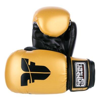 Перчатки Fighter Золотые