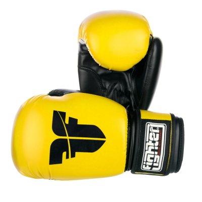 Перчатки Fighter Желтые