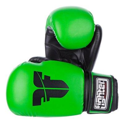 Перчатки Fighter Зеленые