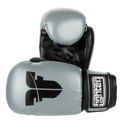 Перчатки Fighter Серебряные