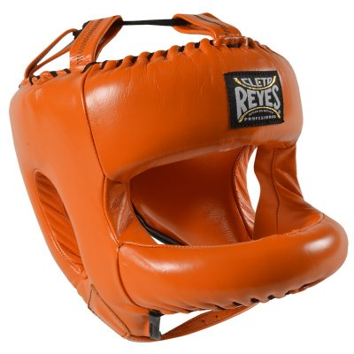 Шлем с бампером Cleto Reyes Оранжевый