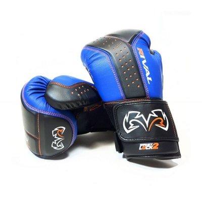 Снарядные перчатки Rival RB10 Черно-синие
