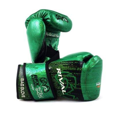 Снарядные перчатки RFX-Guerrero Intelli Shock Зеленые