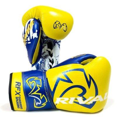 Перчатки Rival RFX Loma Желто-синие