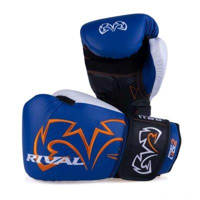 Снарядные перчатки Rival RB11 Бело-синие