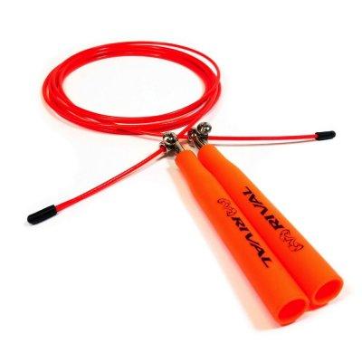 Скакалка для бокса Rival Оранжевая