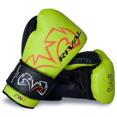 Перчатки Rival RS11V Неоново-зелёные