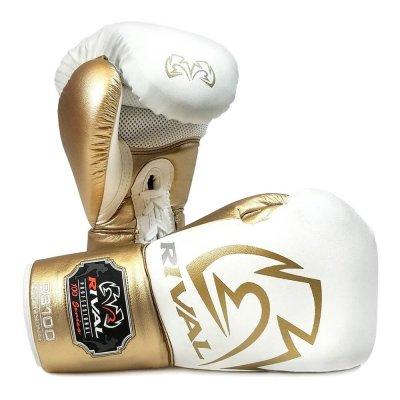 Перчатки Rival RS100 Бело-золотые