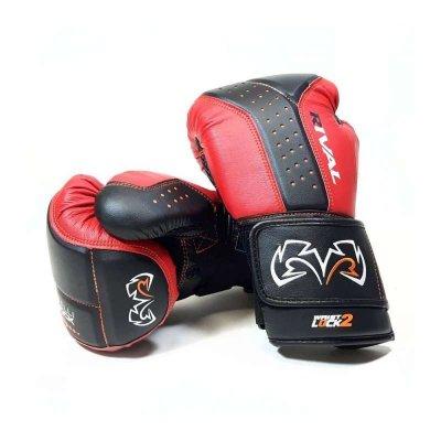 Снарядные перчатки Rival RB10 Черно-красные