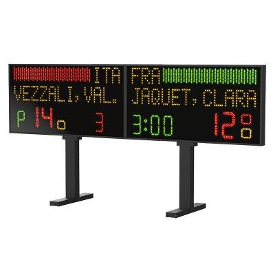 Турнирное табло Favero FR240 для финалов по фехтованию