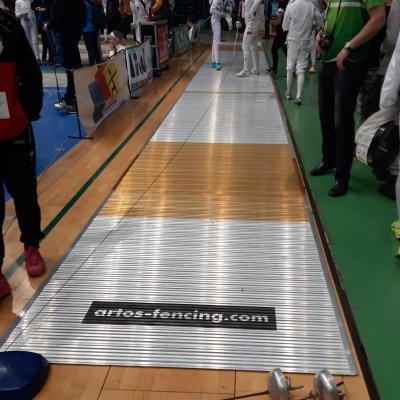 Алюминиевая фехтовальная дорожка Artos FIE 17 х 1,5 м