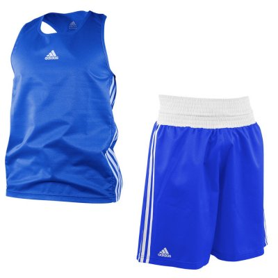 Боксерская форма Adidas Micro Diamond Синяя