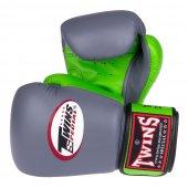 Перчатки Twins Серо-зеленые