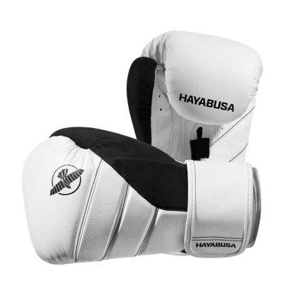 Перчатки Hayabusa T3 Бело-черные