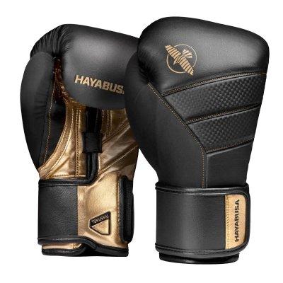 Перчатки Hayabusa T3 Черно-золотые