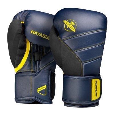 Перчатки Hayabusa T3 Сине-желтые