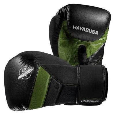 Перчатки Hayabusa T3 Черно-зеленые