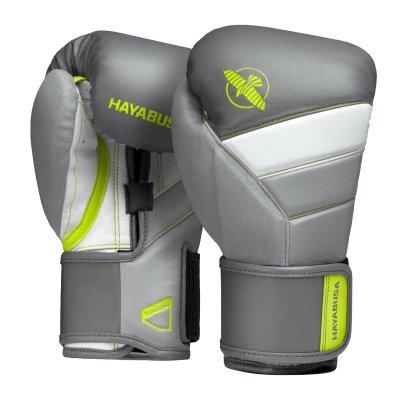 Перчатки Hayabusa T3 Серо-зеленые