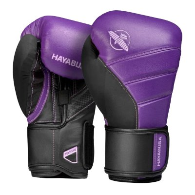 Перчатки Hayabusa T3 Черно-фиолетовые