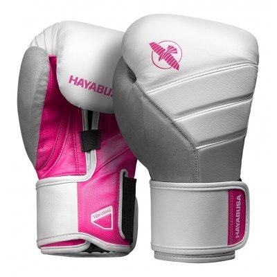 Перчатки Hayabusa T3 Бело-розовые