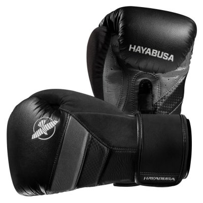 Перчатки Hayabusa T3 Черно-серые