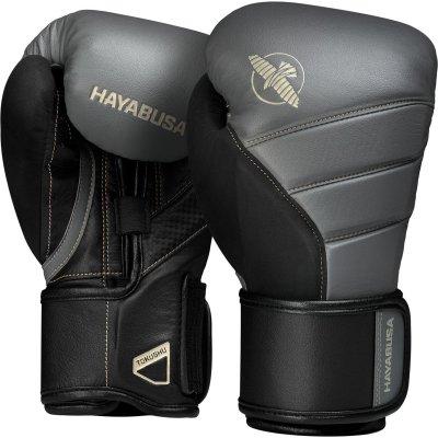 Перчатки Hayabusa T3 Серо-черные