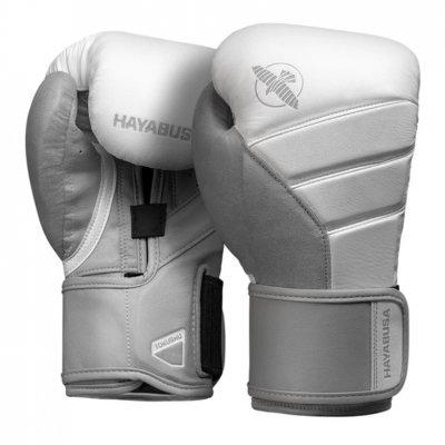 Перчатки Hayabusa T3 Бело-серые