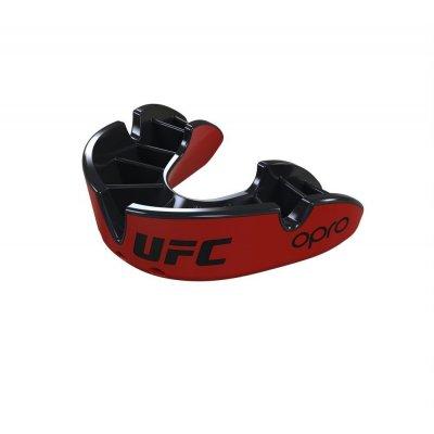 Капа OPRO UFC - Silver level - Красно-черная