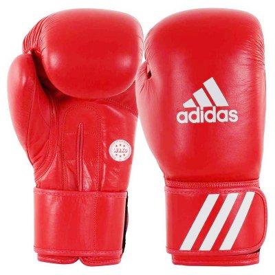 Перчатки для кикбоксинга Adidas WAKO Training Красные