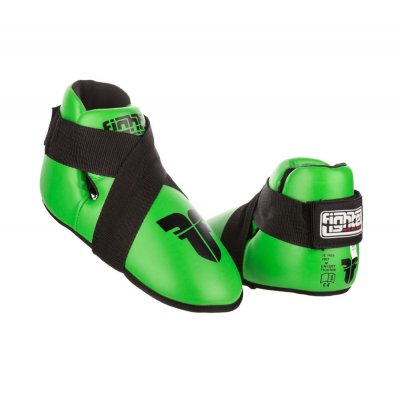 Футы для кикбоксинга Fighter Зеленые