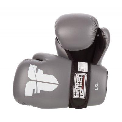 Перчатки для кикбоксинга Fighter Серые