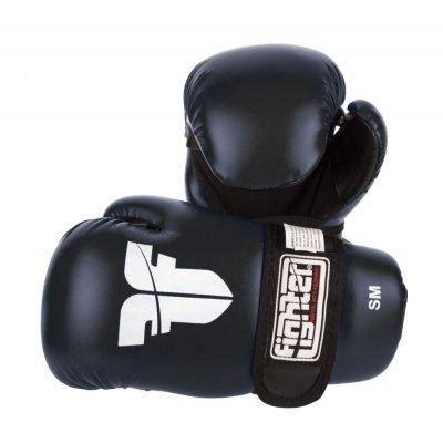 Перчатки для кикбоксинга Fighter Черные